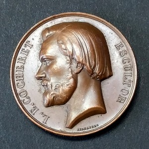 Medalla de Bronce L.E. Cocheret Escultor
