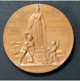 Medalla de Bronce conmemorativa de José Echegaray