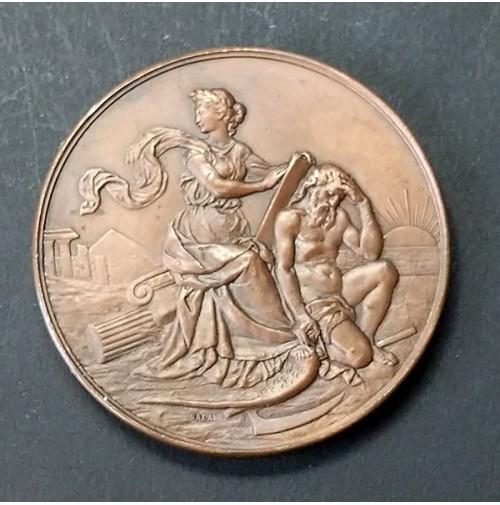 Medalla de Bronce Real Academia de la Historia 1923