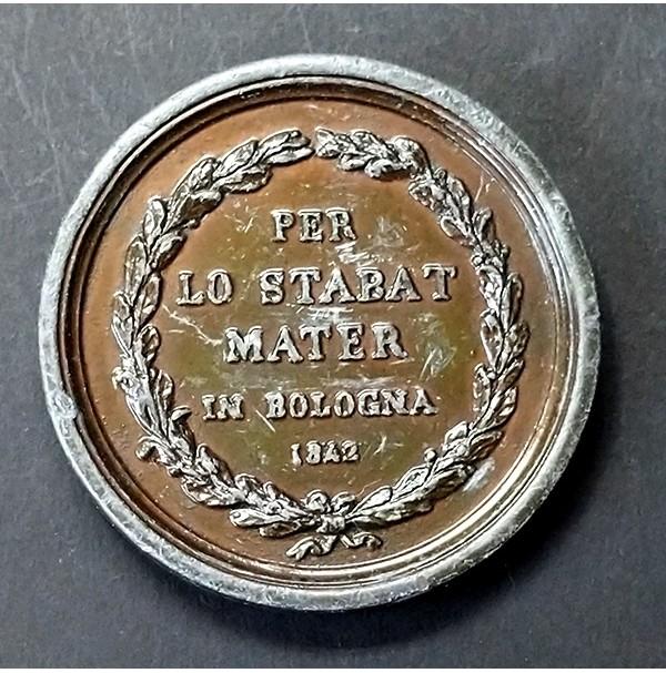 Medalla de Gioacchino Rossini de 1843