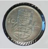 Portugal - 10 Escudos 1954 de Plata