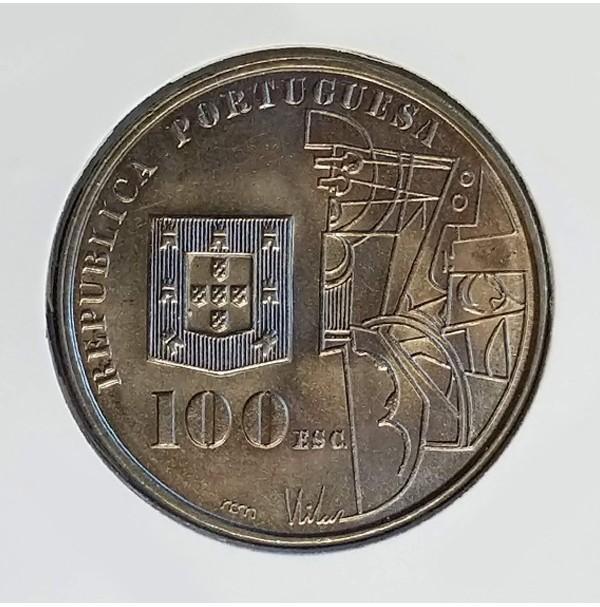 Portugal - 100 Escudos 1987 -  Pintor Amadeo de Souza Cardoso