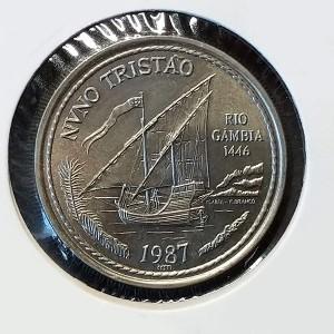 Portugal - 100 Escudos 1987 -  Nuno Tristao
