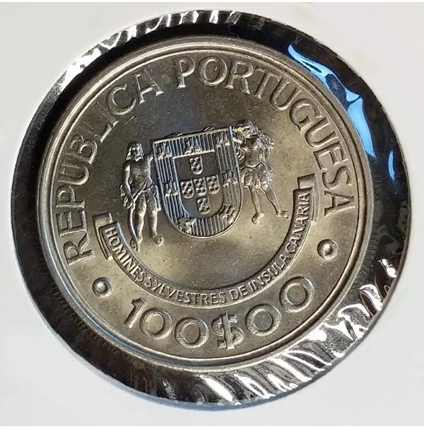 Portugal - 100 Escudos 1989 - Islas Canarias