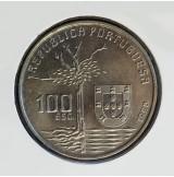 Portugal - 100 Escudos 1990 - Camilo Castelo Branco