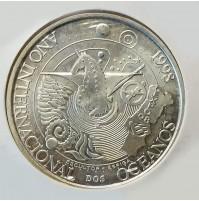 Portugal - 1000 Escudos 1998 de Plata - Año Internacional de los Océanos