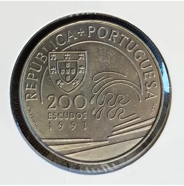 Portugal - 200 Escudos 1991 - Colombo
