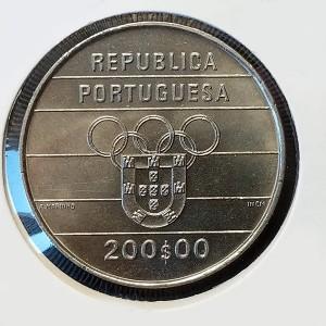 Portugal - 200 Escudos 1992 - XXV Juegos Olímpicos