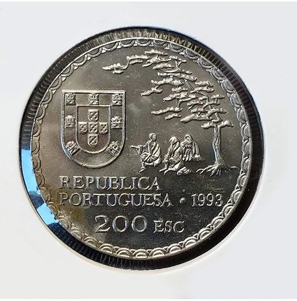 Portugal - 200 Escudos 1993 - Arte Namban