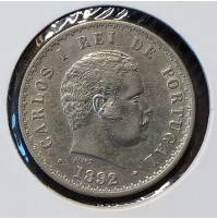 Portugal - 500 Réisde 1892 (Carlos I)