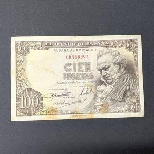 España - Billete de 100 pesetas de 1946