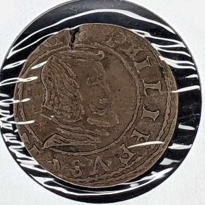 España - 16 Maravedis de Felipe IV 1664 (Madrid)