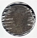 España - 16 Maravedis de Felipe IV 1663 (Sevilla)