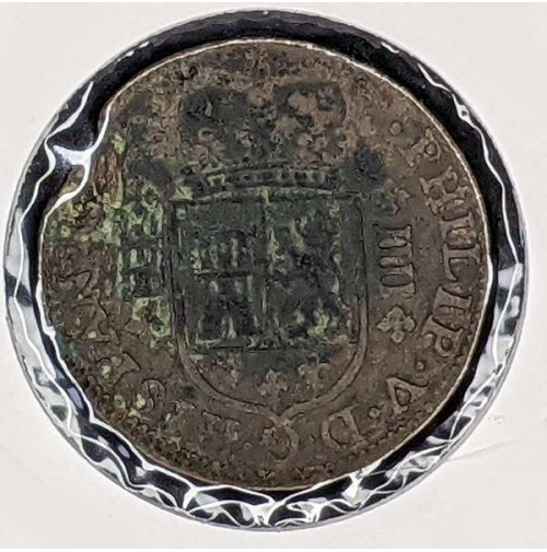 España - 4 Maravedis de Felipe V de 1719