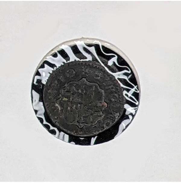 España - Dinero de 1710 de Barcelona