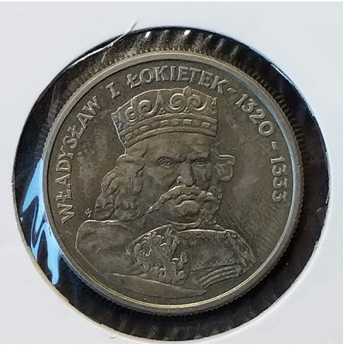 Polonia - 100 Złotych 1986 - Rey Władysław I Łokietek