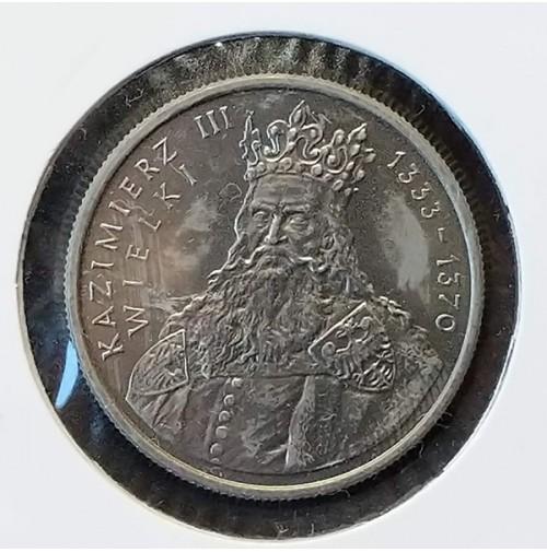 Polonia - 100 Złotych 1987 - Rey Kazimierz II