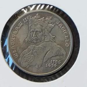 Polonia - 500 Złotych 1989 - Rey Władysław II