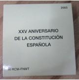 España - 10 euros 2003 - XXV Aniversario de la Constitución Española