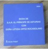 España - 10 euros 2004 - Boda Príncipe Felipe y Letizia