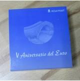 España - 10 euros 2007 - Lote de 3 Monedas V Aniversario del Euro de Plata