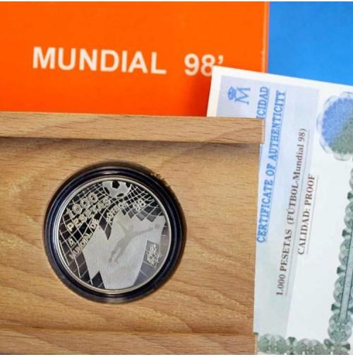 España - 1000 pesetas 1998 - Mundial 98'