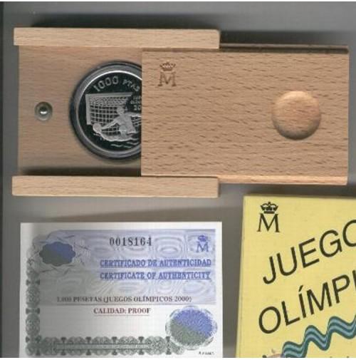 España - 1000 pesetas 1999 - Juegos Olímpicos