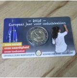 Bélgica - 2 Euro 2015 - Conmemorativo Año del Desarrollo