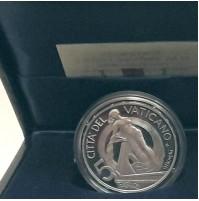 Vaticano - 5 y 10 euros en Plata 2002