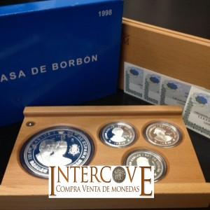 España - Casa Borbón Serie Plata de 1998