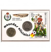 España - Monedas Oficiales Mundial España 1982