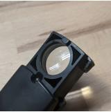Lupa plegable con luz led