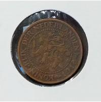 Holanda - 2 1/2 Centavos de 1918