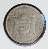 Hungría - 5 Pengö de 1930BP en plata