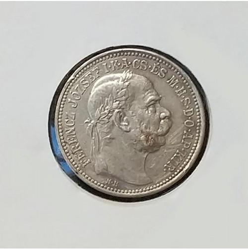 Hungría - 1 Corona de 1914 (Plata)