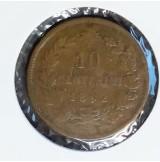 Italia - 10 Centesimi de 1862