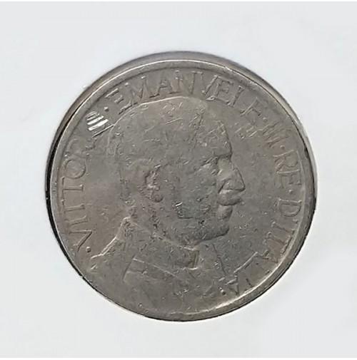Italia - 2 Liras de 1923 (Vittorio Emanuele II)
