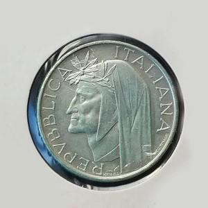 Italia - 500 Liras 1965 (Dante Alighieri)
