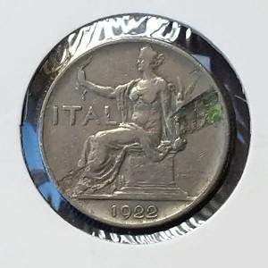Italia - Lira de 1922 (Vittorio Emanuelle)