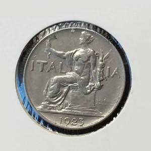 Italia - Lira de 1923 (Vittorio Emanuelle)