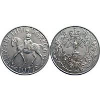 Reino Unido - 25 peniques 1977