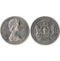 Tristán da Cunha (Reino Unido) -  1 Corona de 1978