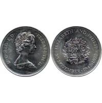 Reino Unido - 25 peniques 1972