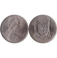 Fiji (Reino Unido) - 1 Dólar de 1969