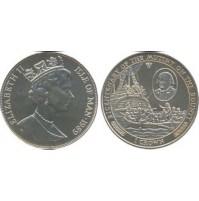 Isla de Man - 1 Corona de 1989 - Barco