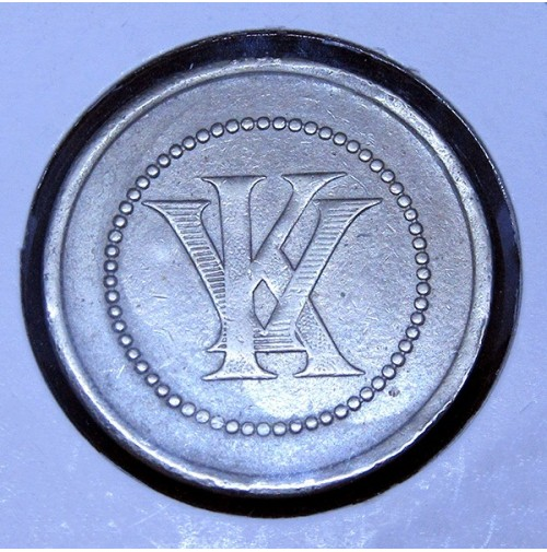 Ficha de Casino 2 pesetas KV