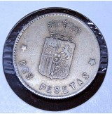Ficha de Casino 2 pesetas Caballo
