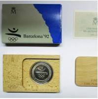 España - Serie Barcelona '92 - 2000 Pesetas 1990 - Arquero Prehistórico FDC