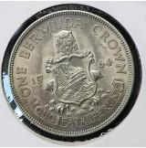 Bermudas - 1 Corona 1964 Plata