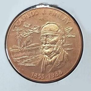 Cuba - 1 Peso 1988 Finlay